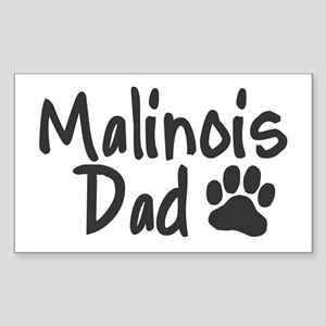 Malinois DAD Sticker (Rectangle)