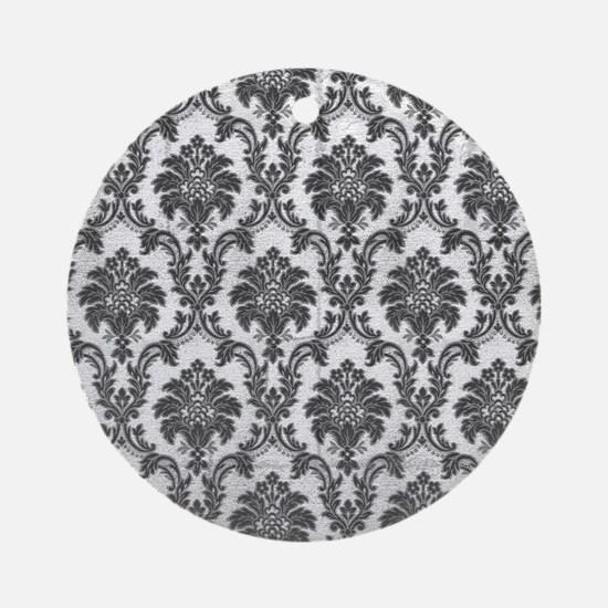 Damask Ornament (Round)