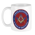 Band Of Brothers Masonic Mug Mugs
