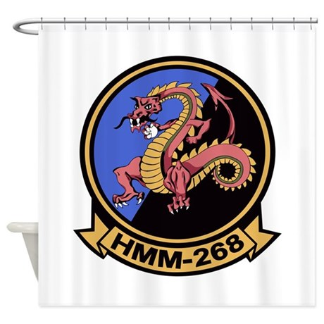 HMM-268 Flying Tigers Shower Curtain