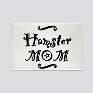 Hamster MOM Rectangle Magnet