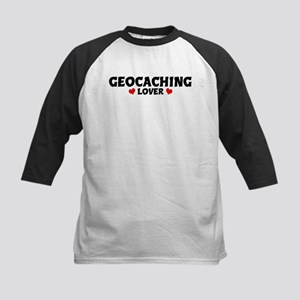 GEOCACHING Lover Kids Baseball Jersey