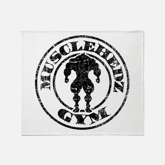 MUSCLEHEDZ GYM - Throw Blanket