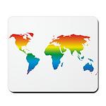 world rainbow 2: Mousepad