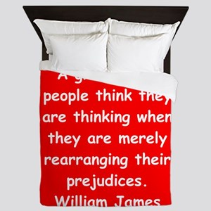 william james Queen Duvet