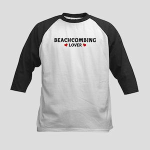 BEACHCOMBING Lover Kids Baseball Jersey