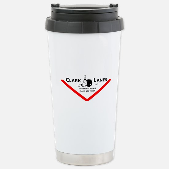 Clark Lanes Stainless Steel Travel Mug