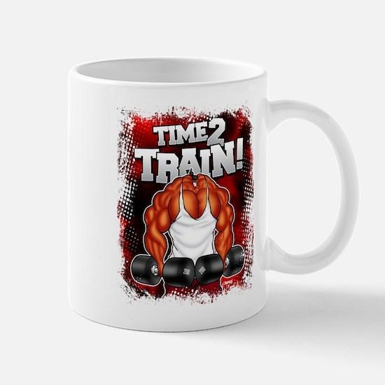 TIME 2 TRAIN! - Mug