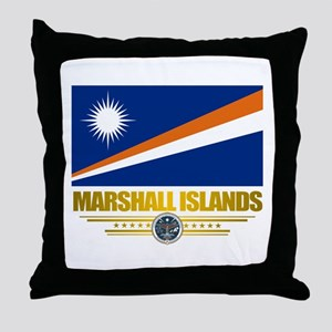 """Marshall Islands Flag"" Throw Pillow"