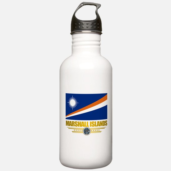 """Marshall Islands Flag"" Water Bottle"