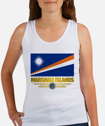 """Marshall Islands Flag"" Women's Tank Top"