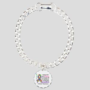 Blessing 4 Autism Charm Bracelet, One Charm