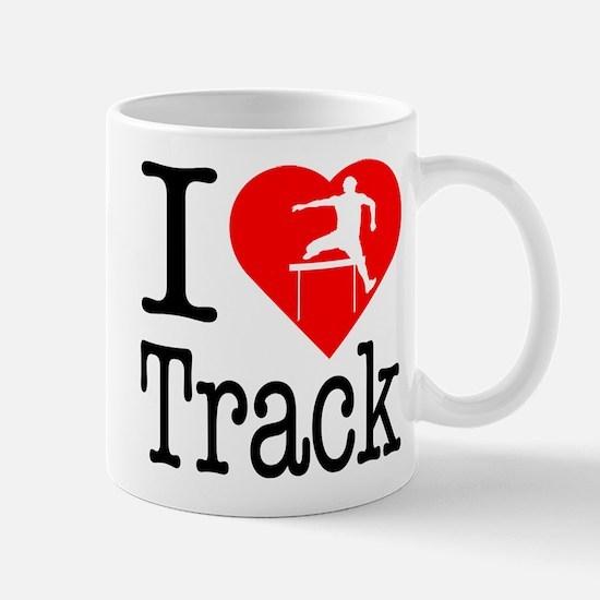I Love Track Mug