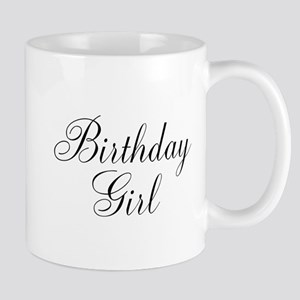 Birthday Girl Black Script Mug