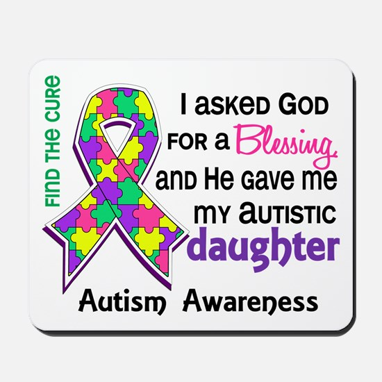 Blessing 4 Autism Mousepad