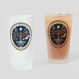 """Marshall Islands COA"" Drinking Glass"