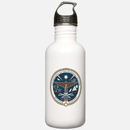 """Marshall Islands COA"" Water Bottle"