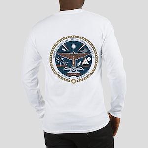 """Marshall Islands COA"" Long Sleeve T-Shi"