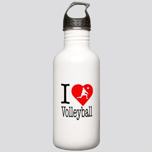 I Love Volleyball Stainless Water Bottle 1.0L