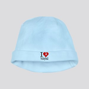 I Love Tennis baby hat