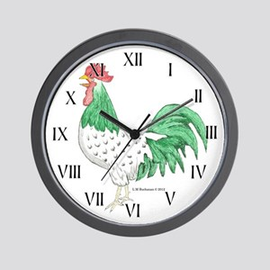 Henry Rooster Wall Clock
