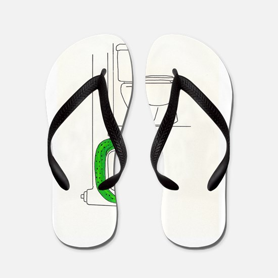Cool Slugged Flip Flops