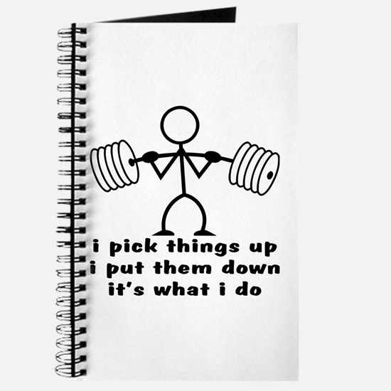 Stick Figure Body Builder Journal