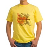 Let the Games Begin Yellow T-Shirt