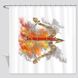 Let the Games Begin Shower Curtain