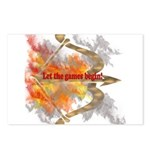 Let the Games Begin Postcards (Package of 8)