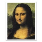 Small Mona Lisa Poster