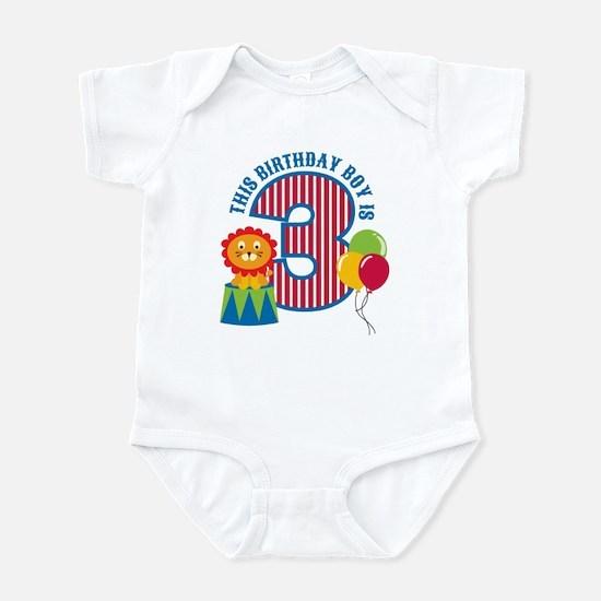 Circus 3rd Birthday Infant Bodysuit
