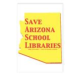 Save AZ School Libraries Postcards (8)