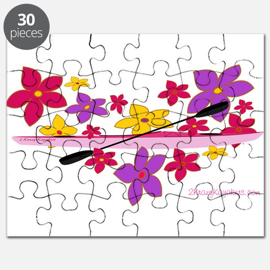 Kayak Flower Power Puzzle