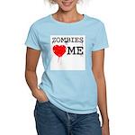Zombies heart me Women's Light T-Shirt