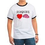 Zombies heart brains Ringer T