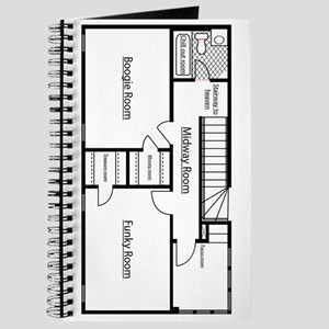Blueprint notebooks cafepress blueprint journal malvernweather Image collections