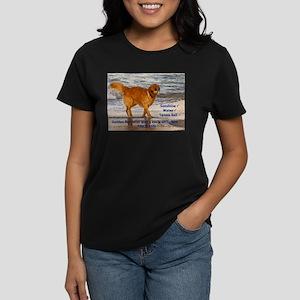 Golden Retriever 10 Women's Dark T-Shirt