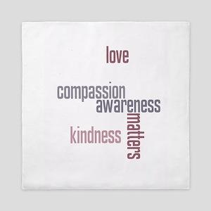 Kindness Matters Queen Duvet