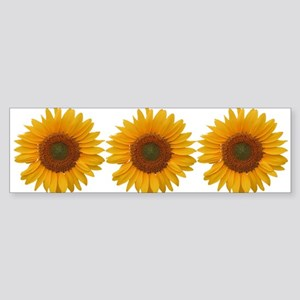 Sunflower Sticker (Bumper)