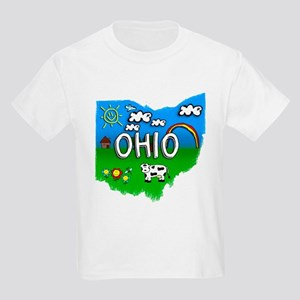 Ohio, Ohio. Kid Themed Kids Light T-Shirt