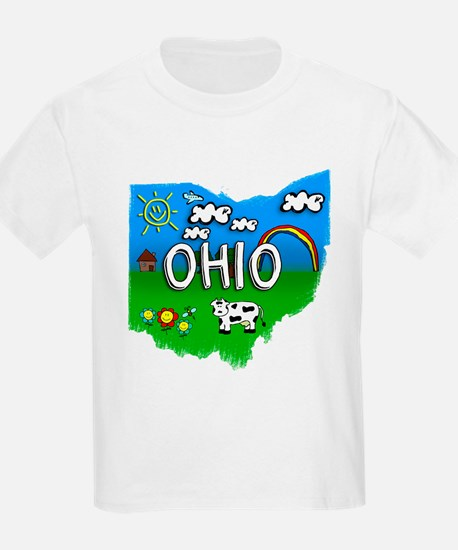 Ohio, Ohio. Kid Themed T-Shirt