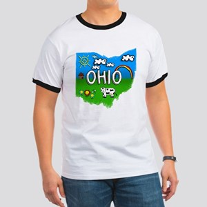Ohio, Ohio. Kid Themed Ringer T