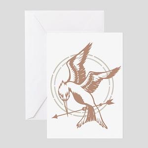Mockingjay Art Greeting Card