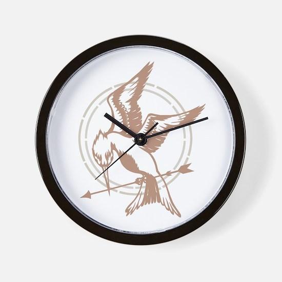 Mockingjay Art Wall Clock