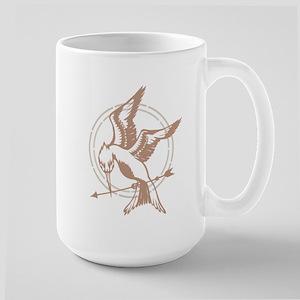 Mockingjay Art Large Mug