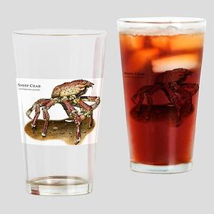 Sheep Crab Drinking Glass