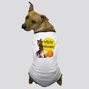 Witchy Woman Dog T-Shirt