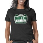 Grand Teton Green Sign Women's Classic T-Shirt