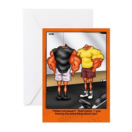 Perfect Physique - Greeting Cards (Pk of 10)
